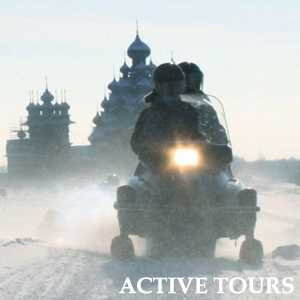 active tours in winter karelia