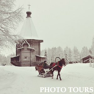 photo tours in winter karelia