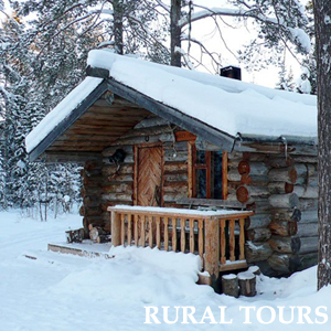 rural tours in winter karelia