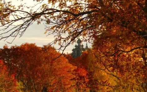 October on kizhi island