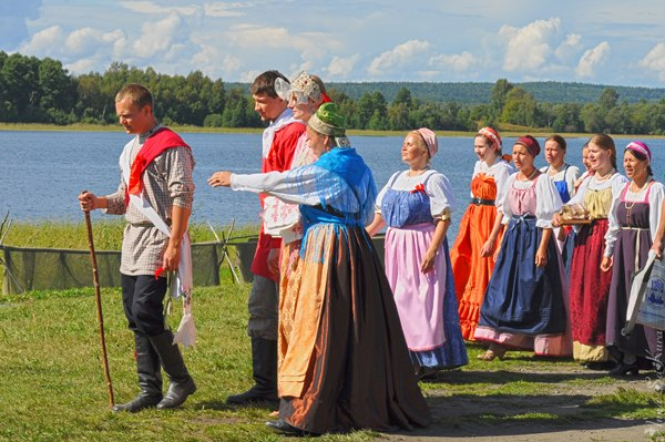 wedding traditions on kizhi island