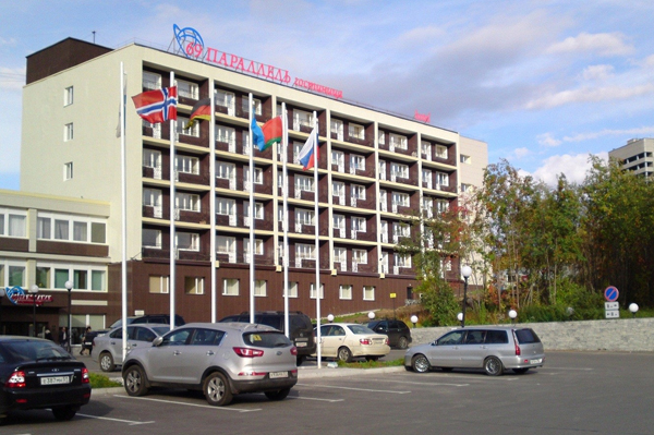 69 Parallel Hotel in Murmansk