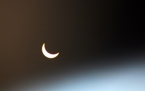 Eclipse in Karelia