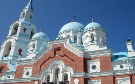 Main cathedral of the Valaam monastery