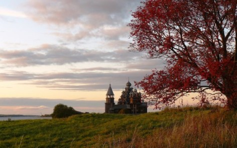 Kizhi Island in autumn