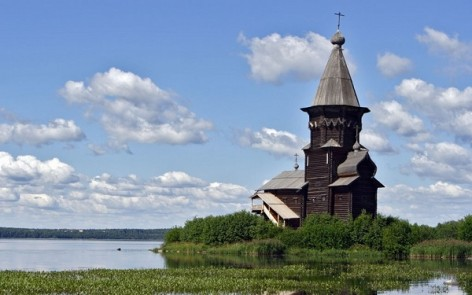 church of assumption in karelia
