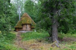 traditional Sami hut
